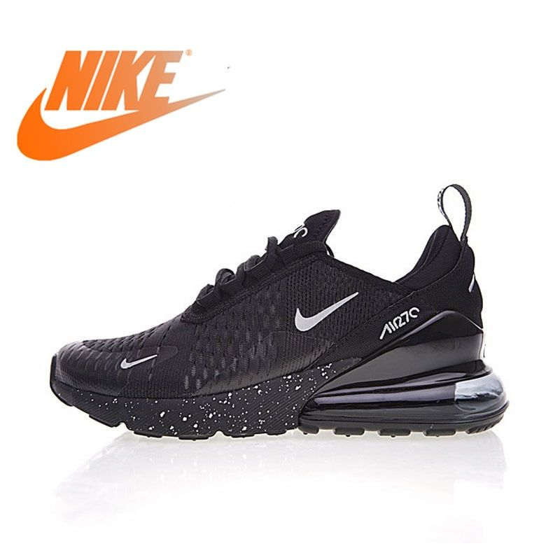 Original Nike Air Max 270 Men s Breathable Running Shoes Sport 2018 New  Arrival Authentic Outdoor Sneakers Designer AH8050-202 ab2d3de71c86