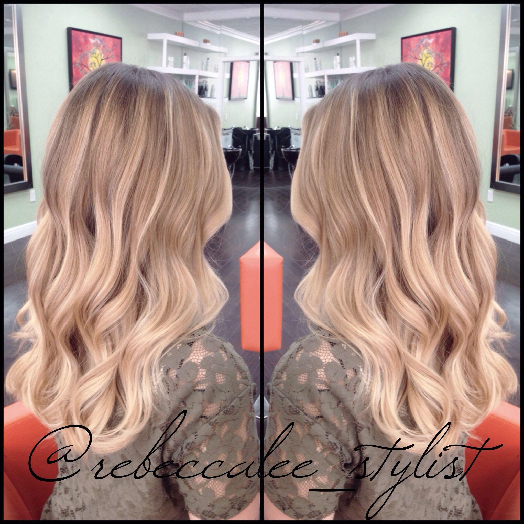 Blonde balayage highlights hair color i want pinterest blonde