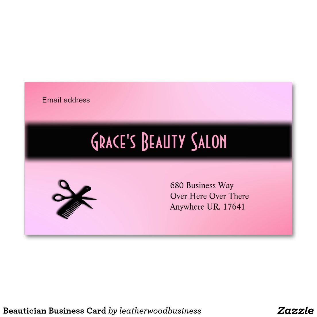Beautician Business Card 50% OFF Business Cards #stylist ...