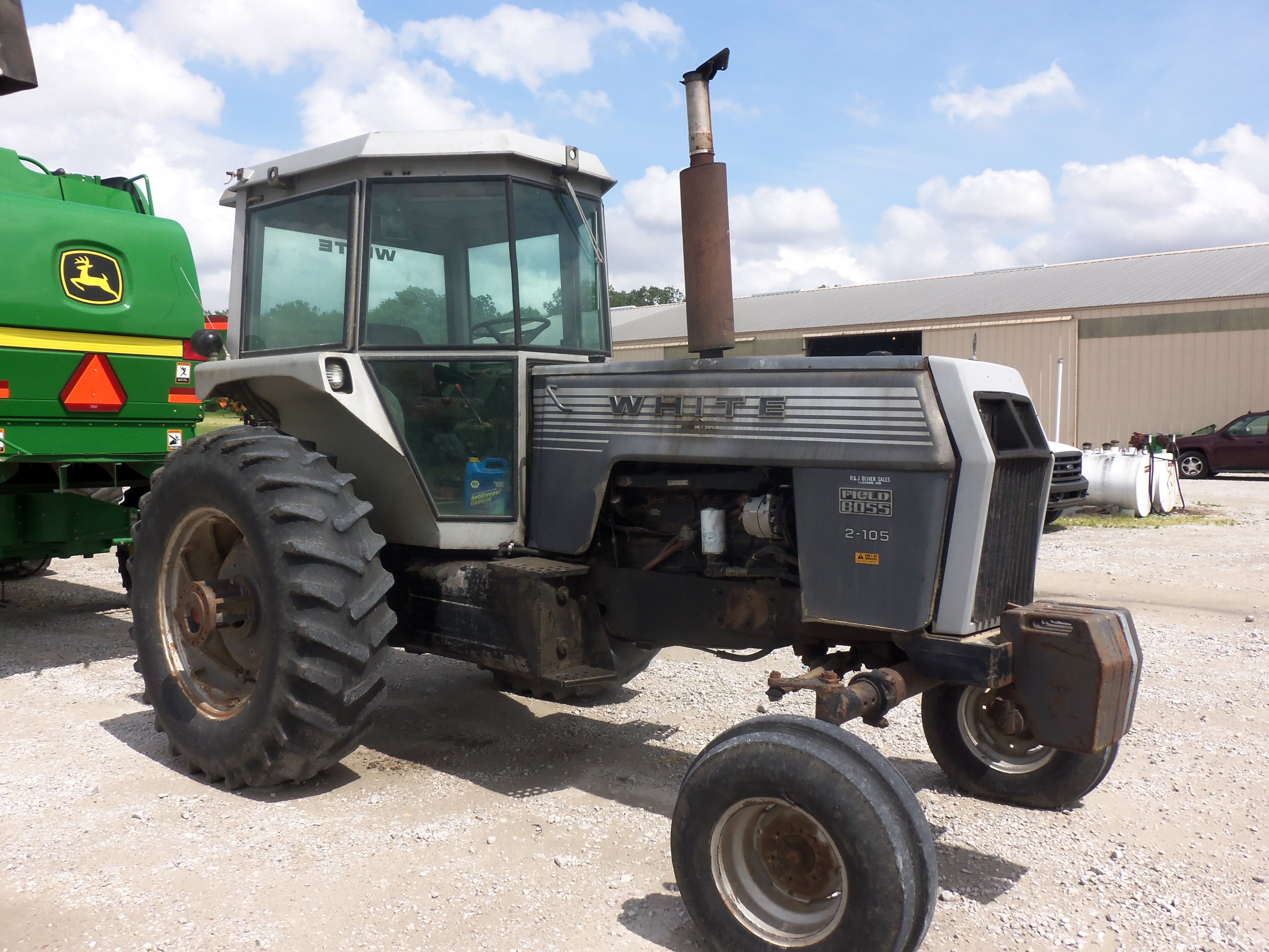 105hp White 2 105 Field Boss Tractors Vintage Tractors Oliver