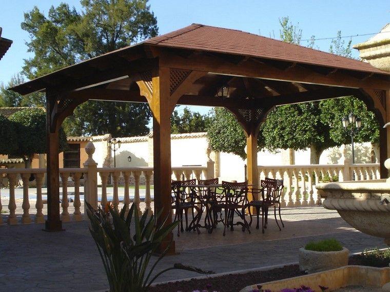 Pérgolas jardines terrazas con estilo muy modernas Pergolas - terrazas en madera
