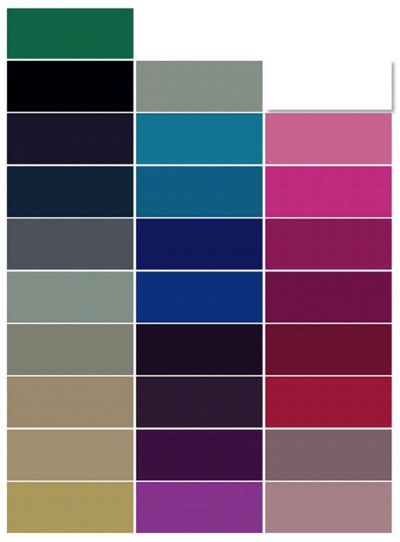 Winter colour palette
