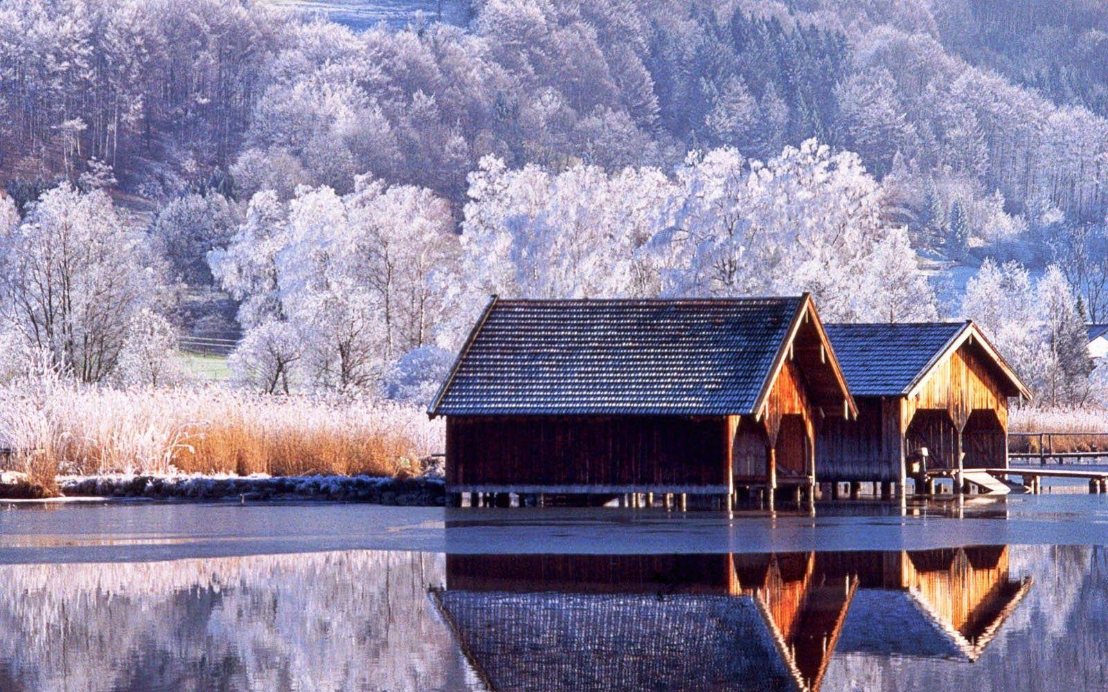 scenery winter wallpapers desktop sceneries backgrounds