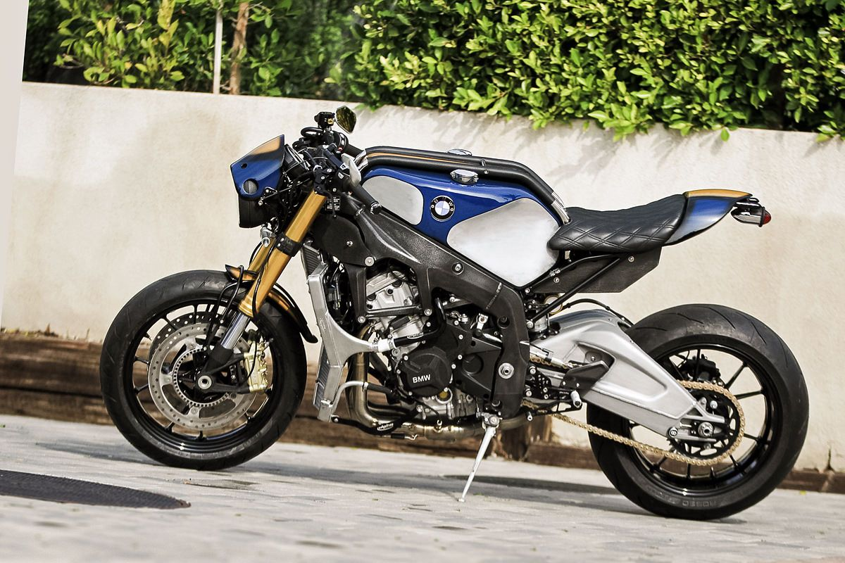 orlando bloom 39 s custom bmw s1000r bmw cafe racer build and moto bike. Black Bedroom Furniture Sets. Home Design Ideas