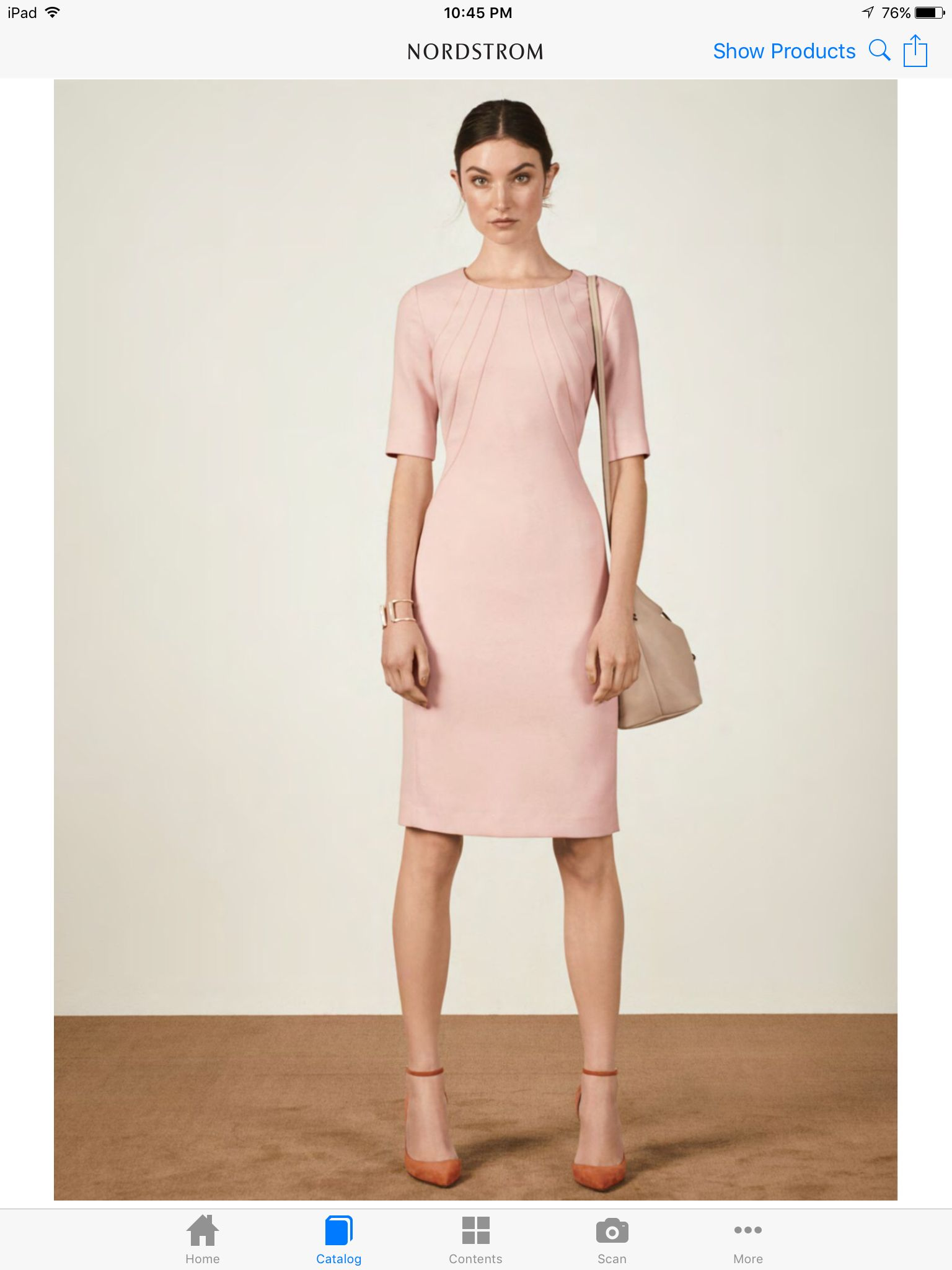 Guest of wedding dresses spring  Petal pink sheath with sleeves  Wedding guest dresses  Pinterest