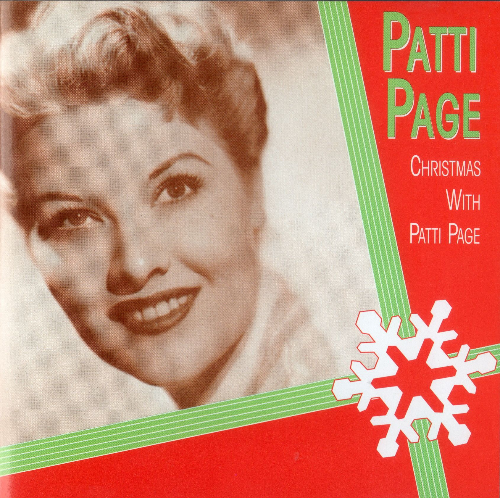 Christmas With Patti Page 1955 Unfortunately I Own The Copy With The Generic 90s Cover But I Just Discovered The Origin Patti Page Christmas Albums Patti
