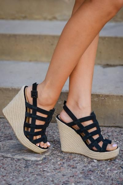 Chinese Laundry Believe Me Wedges Black Black Wedges Me Too Shoes Wedges