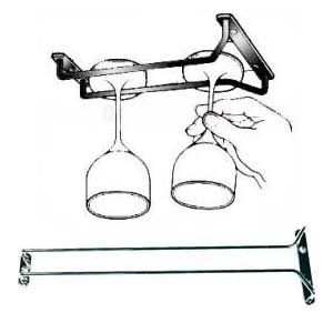 Amazon.com: New, 16-Inch Long, Wine Glass Rack, Wire