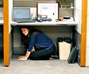 Hiding Under Desk Google Search Desk Standing Desk Emergency Essentials