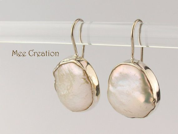 ad176c7b77cf EE1140001 Pendientes perla barroca irregular pendientes