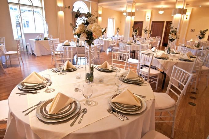 Monte Cristo Ballroom Everett Wa Table Settings Wedding