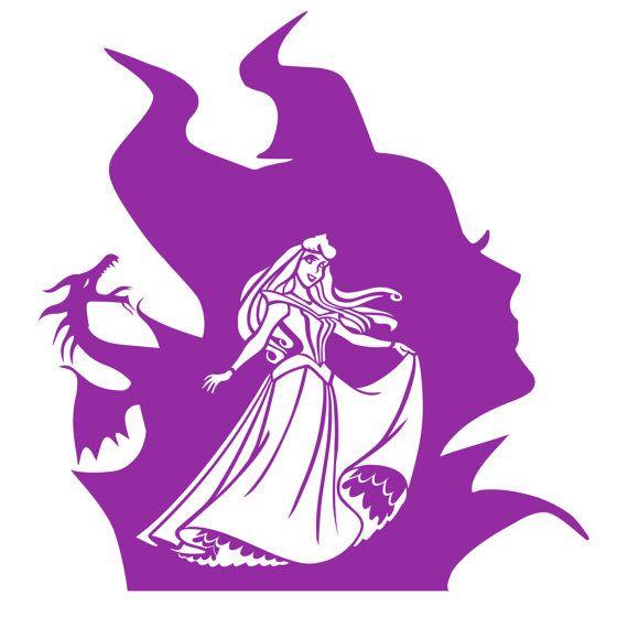 Disney Maleficent Princess Aurora Purple Vinyl by SitRepDesigns