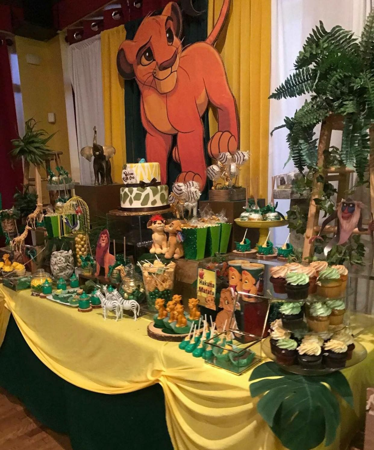 Pin by Elegant on Lion king party | cumpleaos Rey len ...