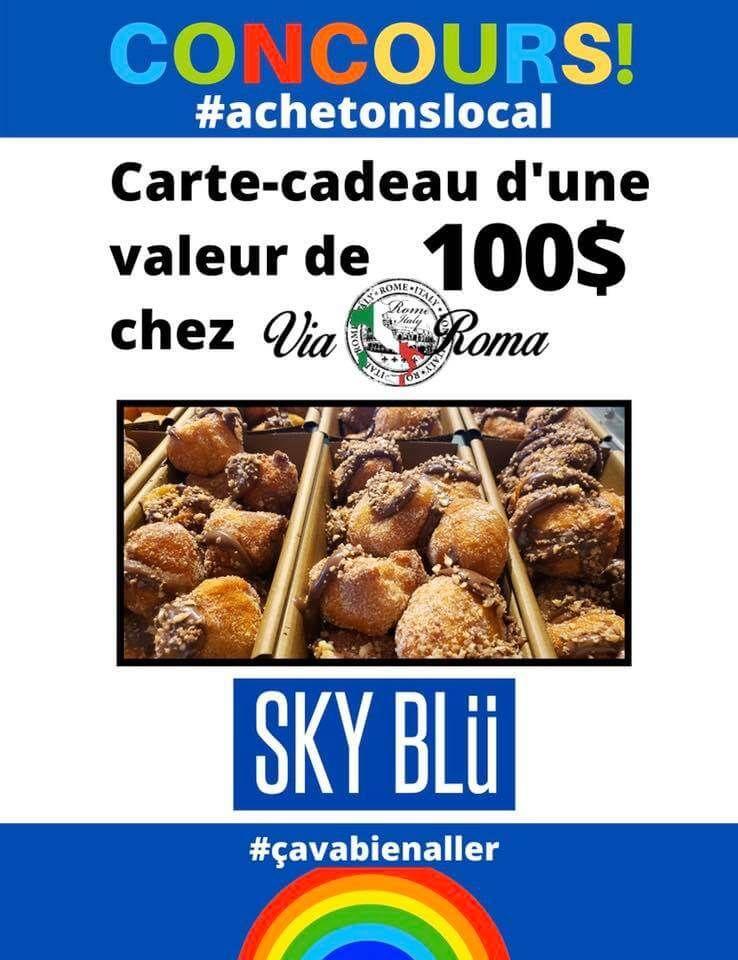 Gagnez 100 chez Boulangerie Pâtisserie Via Roma Mirabel