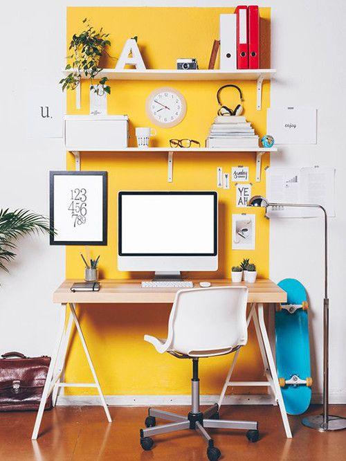 10 detalles que copiar para decorar tu oficina en casa | Oficina en ...