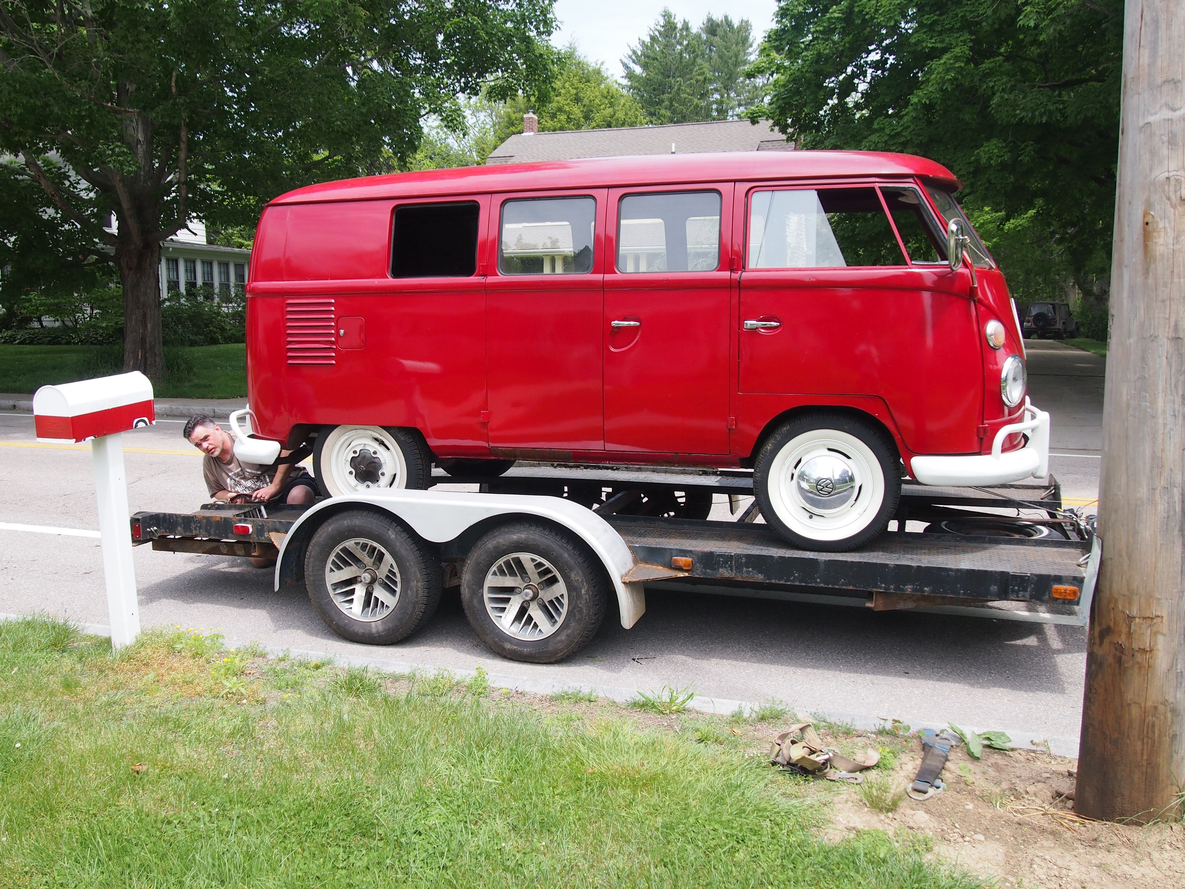 1962 VW Microbus. Bought off Craigslist in Rhode Island. http://www ...