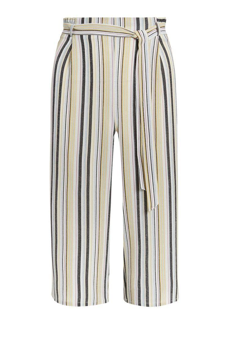 e3276ad1db Primark - Yellow Stripe Culottes | Fashion | Primark, Yellow stripes ...