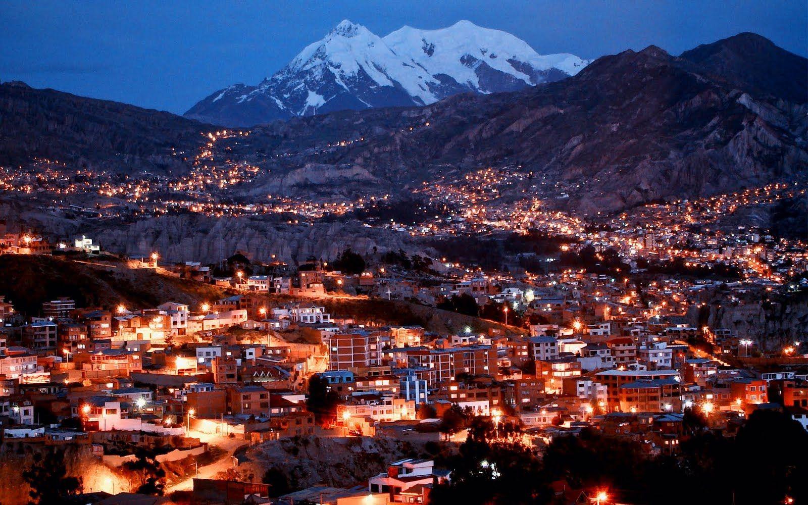 La Paz Bolivia 1680 X 1050 Wallpaper Hd Desktop Wallpaper La Paz Breathtaking Places City