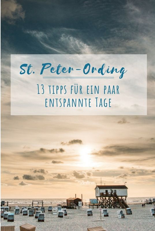Photo of 13 tips for a few relaxing days in St. Peter-Ording
