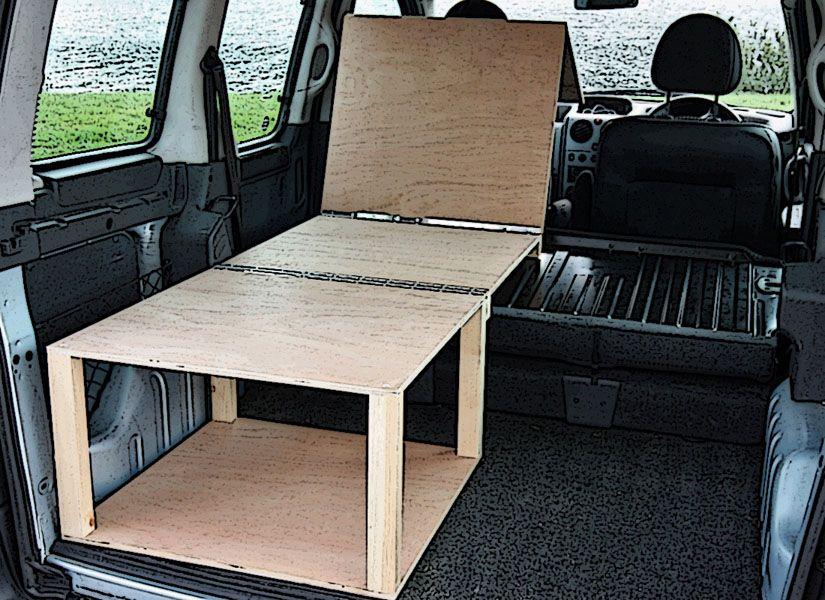GBP399 Citroen Berlingo Peugeot Partner Camper Van Conversion Modular Lift In
