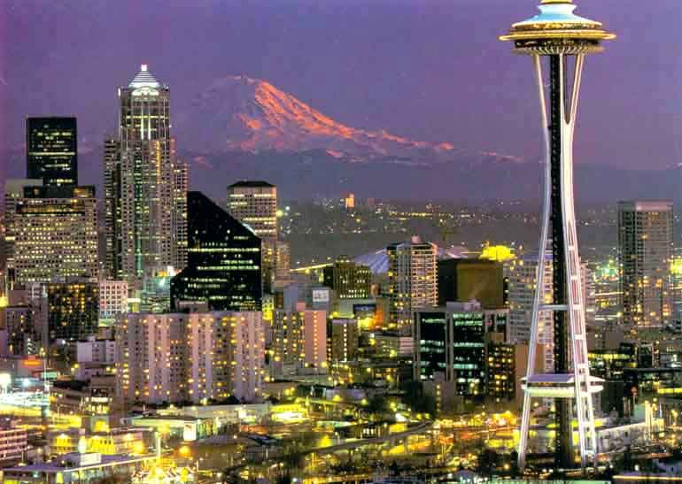 Seattle, our home away from home.