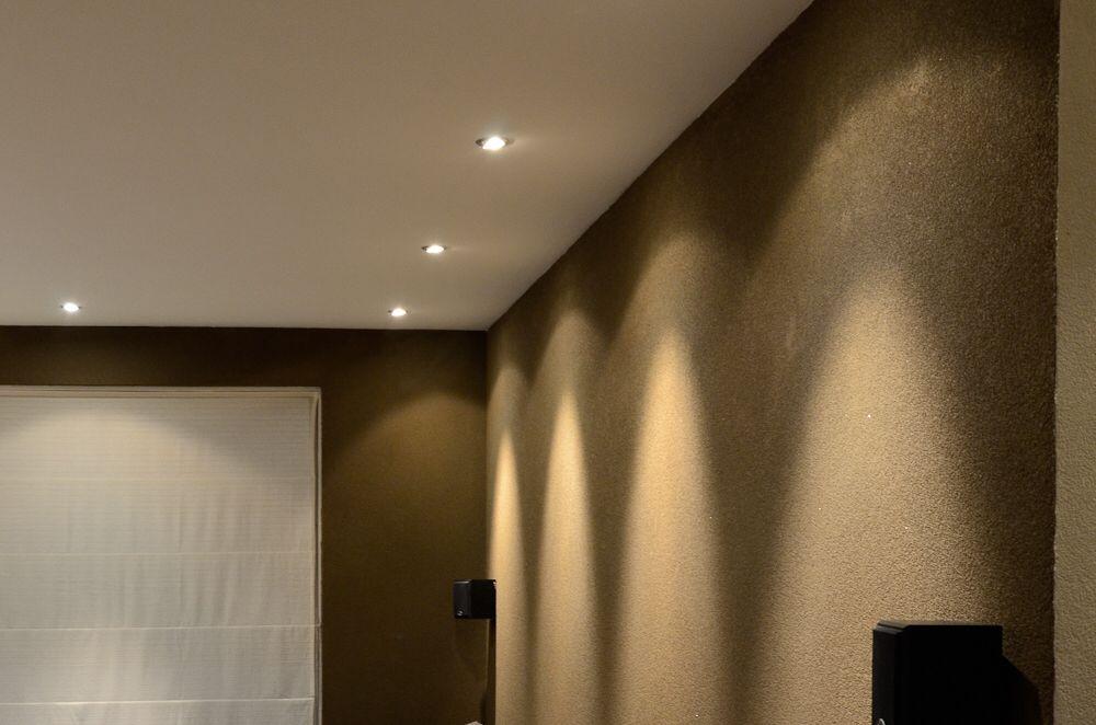 Inbouwspots in de woonkamer | Verlichting | Pinterest
