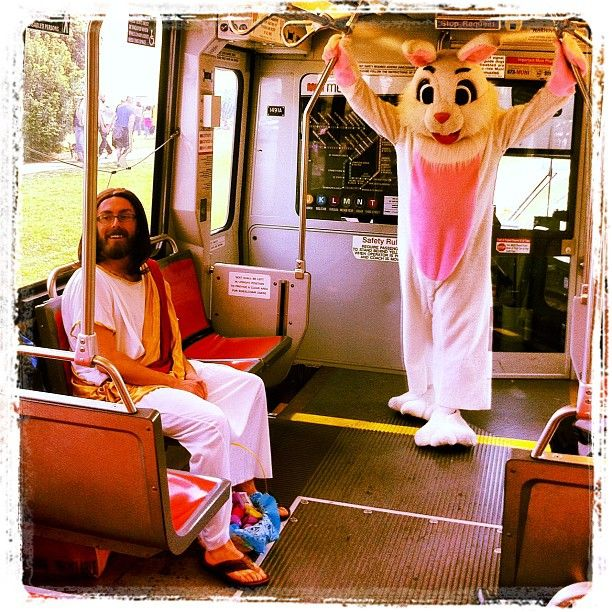 The Risen and the Bunny