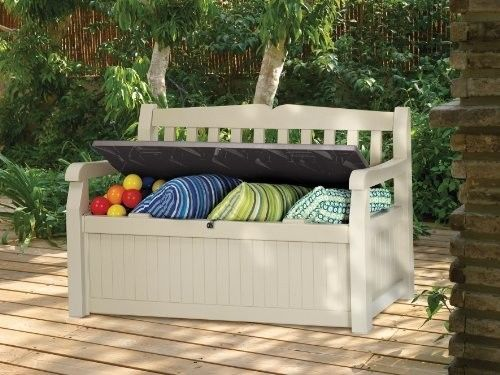 Astounding Garden Bench Storage Box Deck Pool Seating Lock Outdoor Caraccident5 Cool Chair Designs And Ideas Caraccident5Info