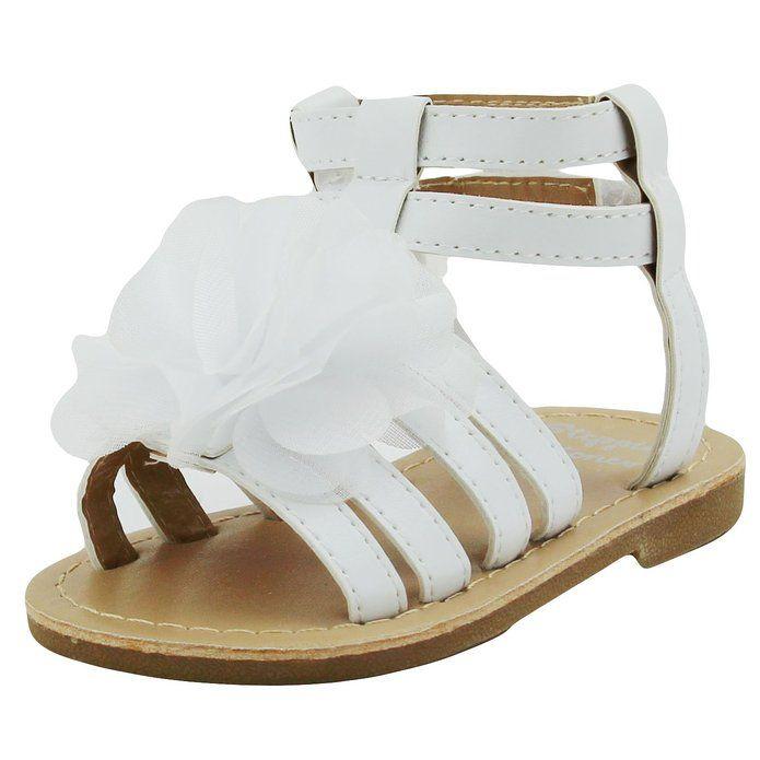 Luvable Friends Kids Gladiator Flat Sandal