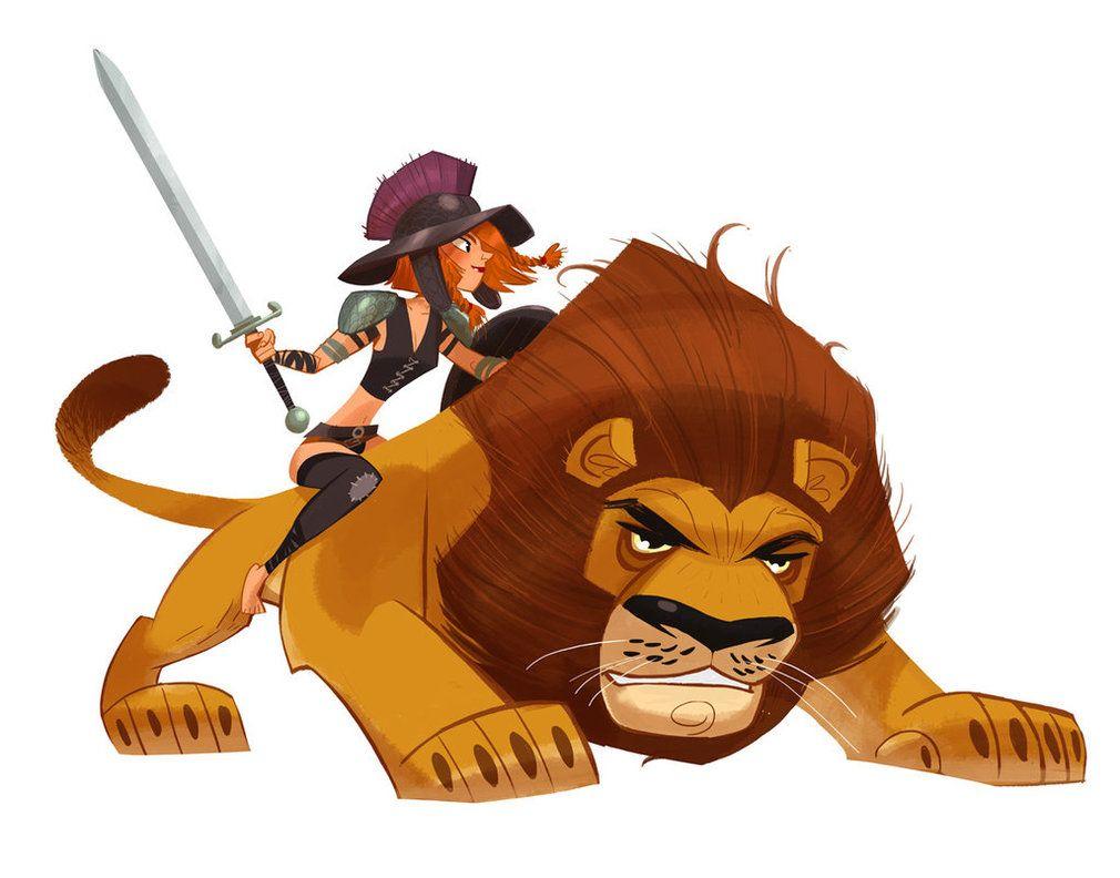 Deviantart Lion Warrior: Lion Warrior By ~elgunto On DeviantART