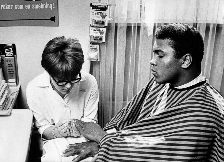 Da Roma '60 a Don King, le foto inedite di Cassius Clay