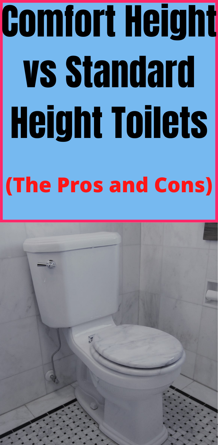 Is A Comfort Height Toilet Better Than A Standard Height Toilet Comfort Toilet Repair One Piece Toilets