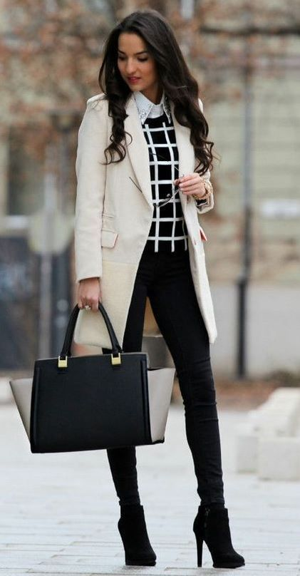 4 Ideas On What To Wear To A Job Interview #winteroutfitsforwork