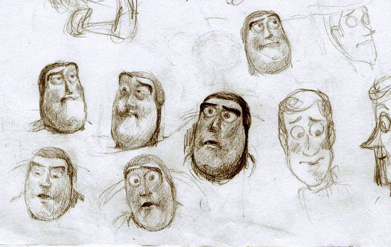 Toy Story-Buzz and Woody study by rain1940 on deviantART