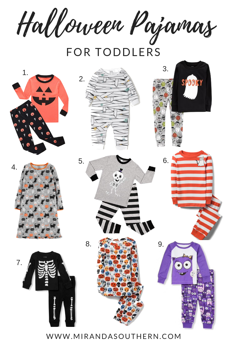 the cutest of halloween pajamas to help your little one celebrate