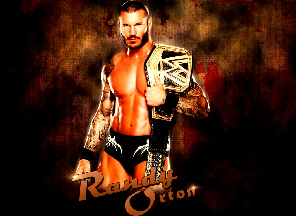 Awesome Pic New Wwe Champion Randy Orton Orton