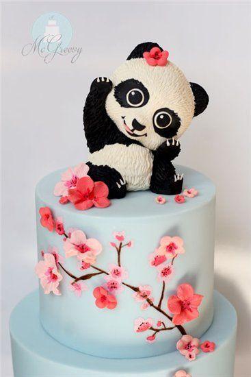 Мастер-классы украшения тортов   Торты   Cake, Panda cakes и Cake ... 610eebbc126