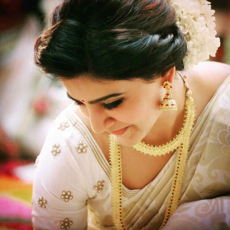 Pin by Ravishani on Samantha in 2019 | Samantha in saree, Samantha ruth, Bridal braids