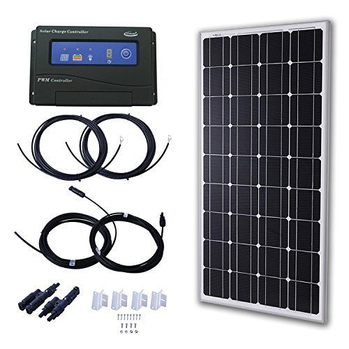 Eco Worthy 12 Volts 120 Watts Portable Folding Polycrystalline Pv Solar Panel Foldable Solar Suitcase Amazon Sale Solar Panel Kits Solar Panel Cost