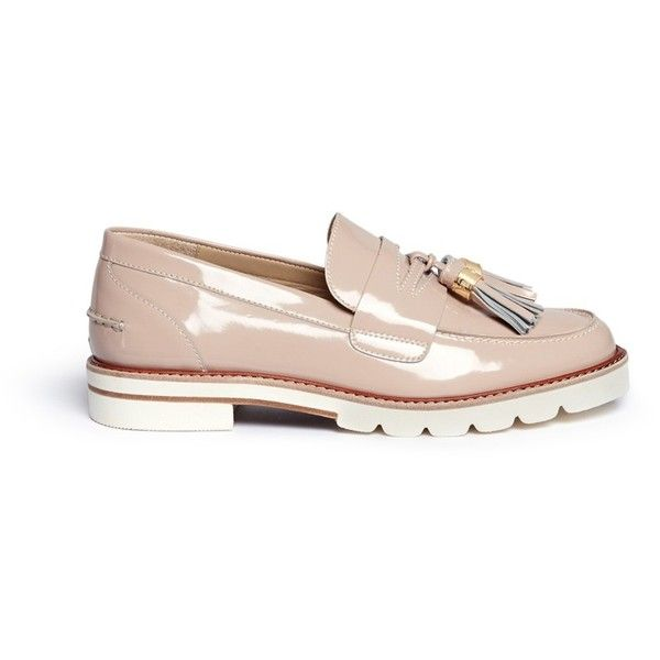Stuart Weitzman Leather Colorblock Loafers free shipping best place sale popular cheap wholesale cheap classic BylYPvTf2