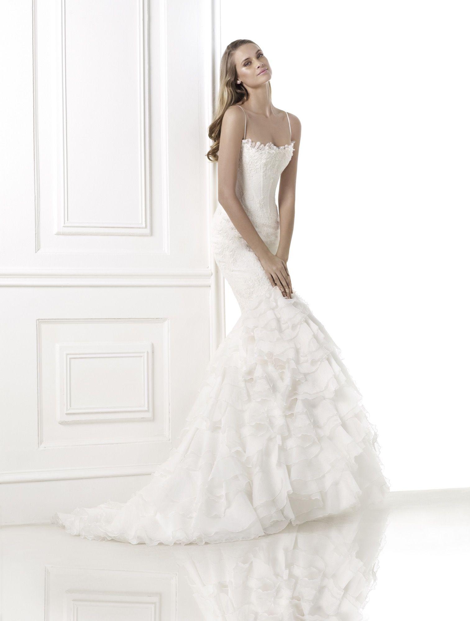 Pronovias Miami Belinda | Wedding | Pinterest | Couture bridal ...