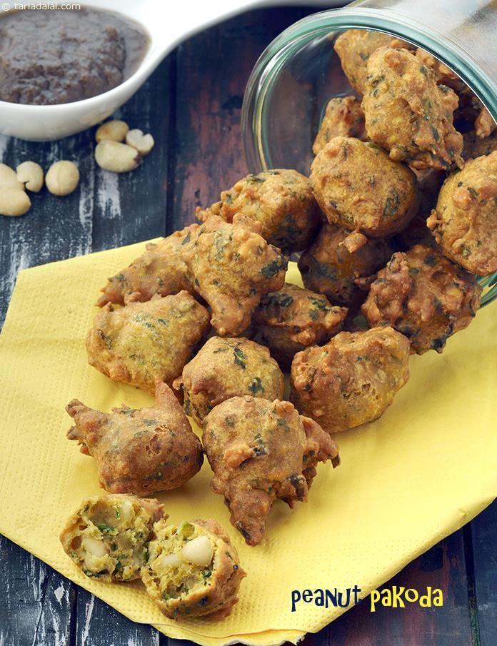 Peanut pakoda shingdana bhajiya recipe healthy recipes snacks peanut pakoda shingdana bhajiya forumfinder Images