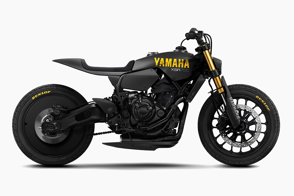Yamaha Is Building This Badass Murdered Out Yard Built Xsr700