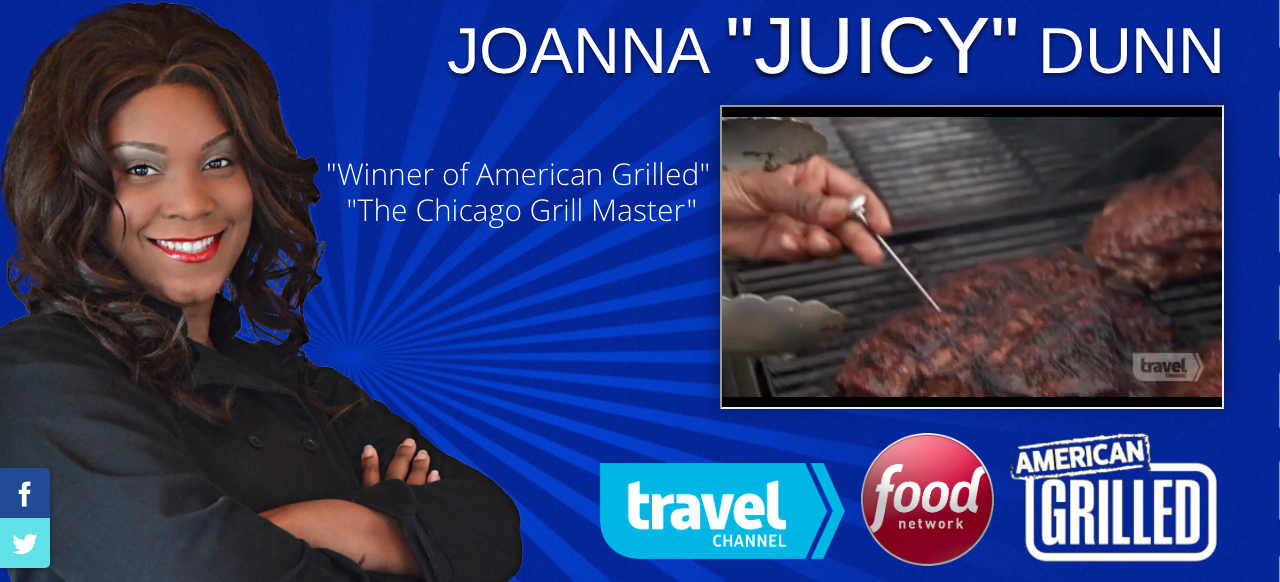 Tv Personality Chef Joanna Dunn Won The Title Of Chicago S