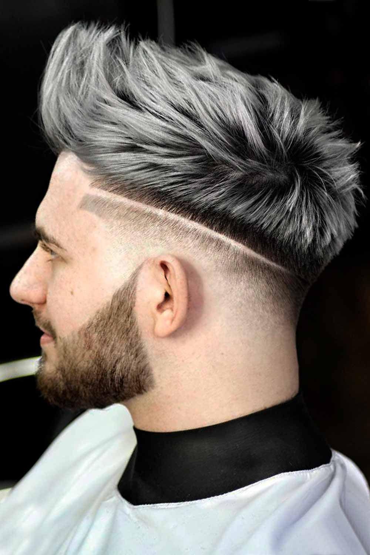 Dye mens grey hair Think Twice