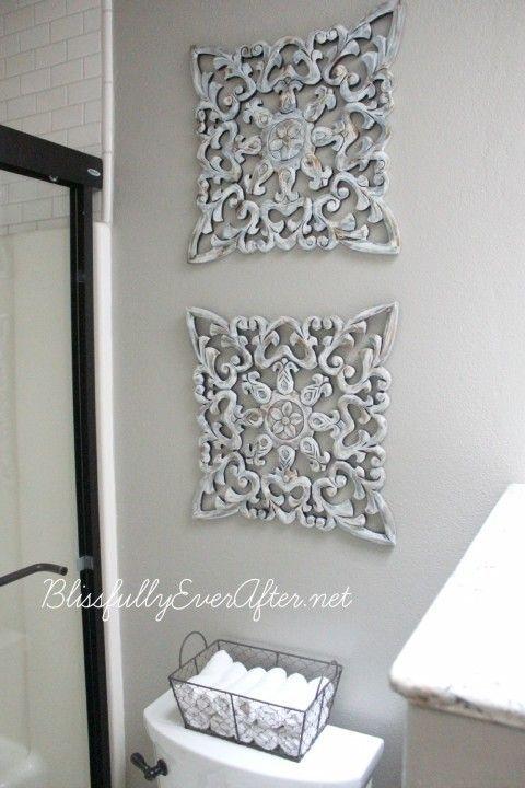 Bathroom Flush Custom Home Wall Decor Bathroomdecorideas Master Bathroom Makeover Bathroom Wall Art Bathroom Makeover