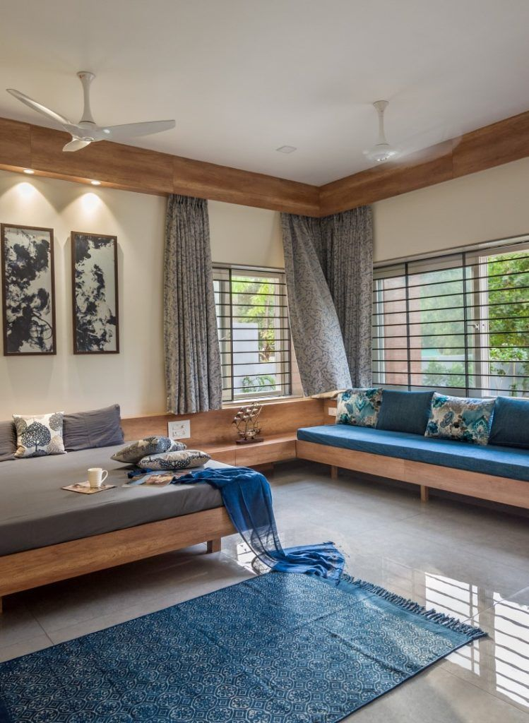 Contemporary House With A Simple Layout Avasiti Design The Architects Diary Bedroom Furniture Layout Home Room Design Contemporary House