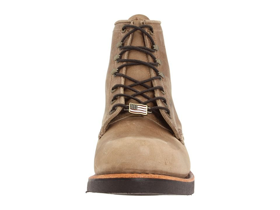 chippewa american handcrafted gq tan rodeo boot men s work lace up