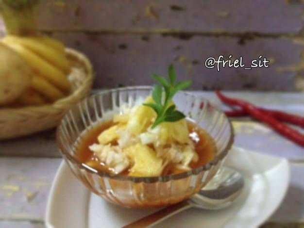 Resep Es Rujak Gobet Oleh Frielingga Sit Resep Resep Makanan Memasak Resep