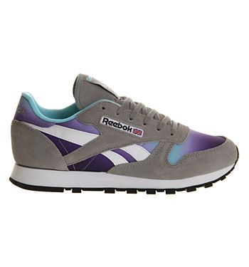 5fe936c42a5157 Reebok Classic Leather (w) Flat Grey Fade Exclusive - Hers trainers ...